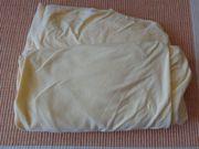 Bettwäsche Spannbettlaken 2 Stück gelb