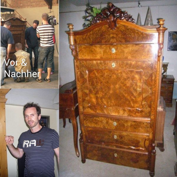 Antiquitäten Restaurierung Designer Möbel Schellack Hand