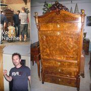 Antiquitäten Restaurierung Designer Möbel Schellack