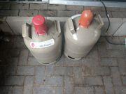 Gasflasche 11 liter Eigentumsflasche zwei