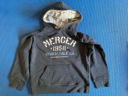 Sweatshirt mit Kapuze Gr 140