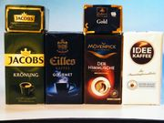 Premium Filter Kaffee Konvolut