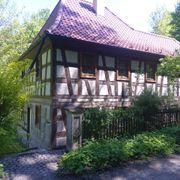 Alleinlage Waldhaus in Oberfranken ein