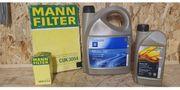 Ölfiler Innenraumfilter und Motoröl 5W30