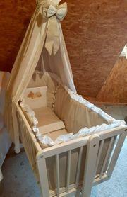 Wunderschöne Babywiege Stubenwagen