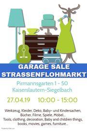 Flohmarkt Garage Sale 27 04