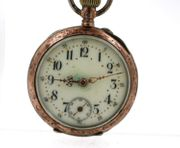 antike Taschenuhr aus 800er Silber