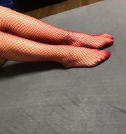 verschiedene Socken und Bilder
