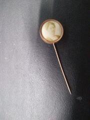 alte Nadel mit Foto einer