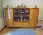 Wohnzimmerschrank Wohnwand - 60er Jahre