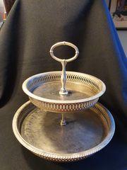 Vintage Etagere aus Metall