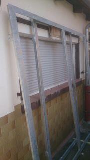 Hoftorrahmen aus verzinktem Stahl 2