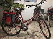 Damentrekking Fahrrad 28 gepflegt