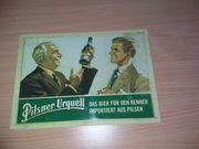 8 Blechschilder von Brauereien