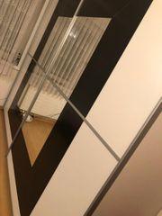 Kleiderschrank mit Spiegelfront