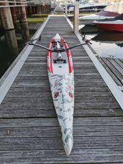 ROWonAIR® das aufblasbare Sport-Ruderboot AIRSKIFF
