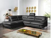 Neue Leder Couch Sofa mit