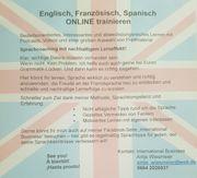 Englisch Spanisch Französisch Deutsch ONLINE