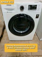 Samsung Waschmaschine A 7 kg
