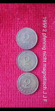 1959 2 pfennig