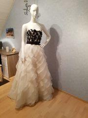 Schwarz Weißes Brautkleid Heute statt