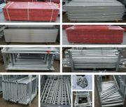 Gerüst 486 m2 Baugerüst Fassadengerüst