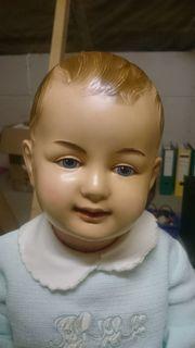 Große Zelluloid - Puppe
