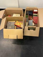 3 Kisten antiquarische Bücher