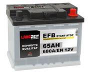 Langzeit EFB 65Ah 12V Autobatterie