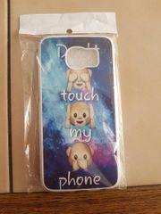 Hartplaste-Handyhülle mit Emoji-Motiv für Samsung