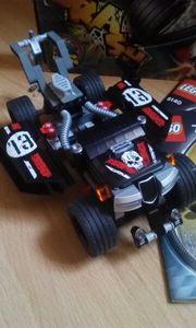 LEGO Racers Crash mit Rückzugsmotor -