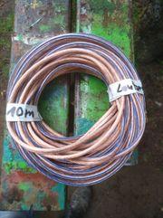 Lautsprecher Kabel 10 m lang