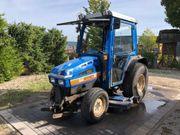 winterdienstfahrzeuge gebraucht Traktor Iseki