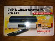 DVB-Satelliten-Receiver FTA UFS 651 von