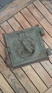 Holz Ofenklappe Ornament Türchen Feuerungsklappe