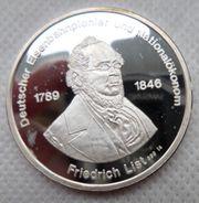 Silbermedaille-Feinsilber 999-35 mm D 15