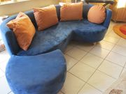 Couch in blau