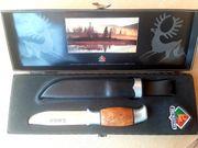 Original norwegisches Jagdmesser Bamse Brusletto