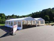 Partyzelt Festzelt Pavilion mieten 12x10m