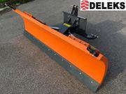 DELEKS LN-200-C Schneeschild Dreipunktanbau hydr
