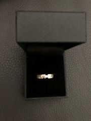 Brillant Weißgold Ring 333 Gold