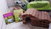 Doppelstöckiger Kaninchenkäfig zu verkaufen
