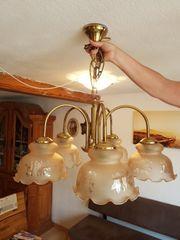 Wunderbare 5-teilige Decken-Lampe Kronleuchte der