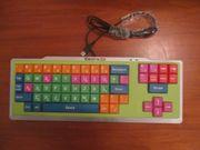 Kindertastatur Computer lernen extra leicht
