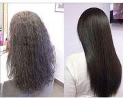 Keratin Behandlung Haarglättung