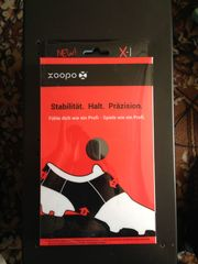 Fussball Silikonband Xoopo-X1 36-38 schwarz