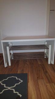 IKEA Schuhregal Sitzbank weiß