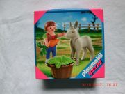 Playmobil 4740 Kind mit Eselfohlen