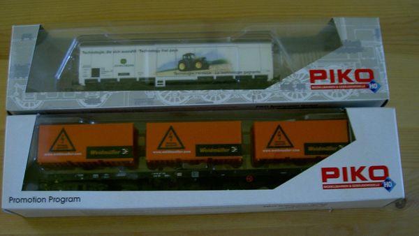 2 Piko Werbewagen H0
