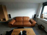Wohnlandschaft Loft Couch Leder Hochwertig